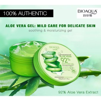 BIOAQUA Aloe Vera 92% Soothing and Moisturizing Gel 220g