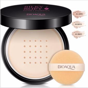 Bioaqua BQY3306-1 Soft Silk Smoothing Makeup Powder 15g (01 NaturalColor) - 2