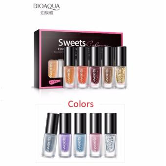 Bioaqua BQY7824-4 Color Water Can Be Stripped Nail Polish (Suit04)