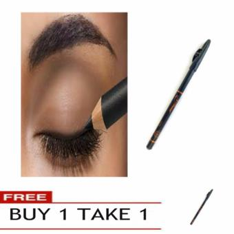 Biya Extra Waterproof Soft & Long Lasting Makeup EyelinerPencil (Black) Buy 1 Take 1