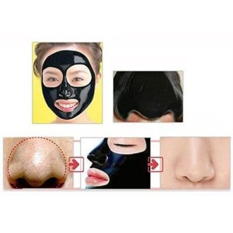Blackhead Remover Cleaner Purifying Deep Cleansing Acne Black Mud Face Mask Peel-off(50ml,Black) - intl - 5