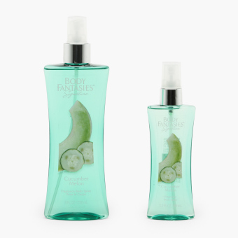 Body Fantasies Signature Cucumber Melon Fragrance Body Spray (Set of 2)