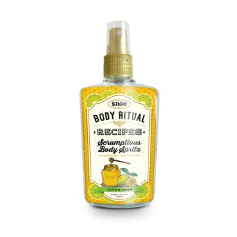 Body Ritual Recipes Scrumptious Body Spritz Lemon Drop 120ml