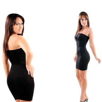 Body Shaper Ultimate 3-in-1 Lipodress (Black)