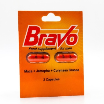 Bravo Food Supplement For men 2 Capsules Price Philippines