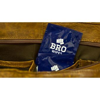 BRO wipes handy travel pack flushable wet wipes
