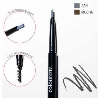 Browfessional Waterproof Automatic Eyebrow Pencil in Ash