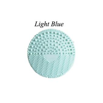 Brush Cleansing Pad (Light Blue)