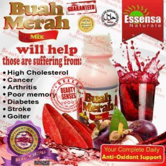 Buah Merah Mix 100% Organic Herbal Powdered Juice Drink - 2