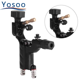 Buy 1 Get 1 Free Gift:Professional Electric Rotary Shader Tattoo Machine Makeup Tool (Black) - intl