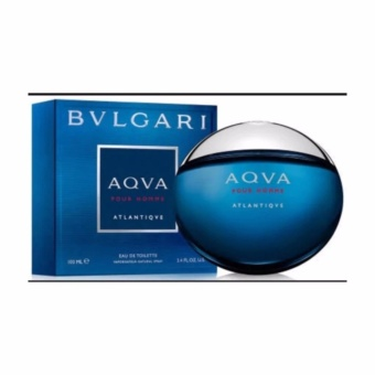 Bvlgari Aqva Pour Homme Atlantiqve Eau de Toilette For Men 100ml