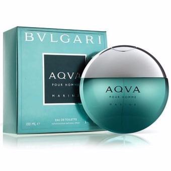 Bvlgari Aqva Pour Homme Marine Eau De Toilette For Men 100ml