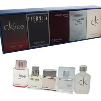 Calvin Klein - CK Deluxe Fragrance Travel Collection Set for Men (5scents, 10 mL each) Price Philippines