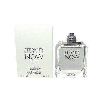 Calvin Klein Eternity Now Eau de Toilette for Men 100ml (Tester) with Free Men's Watch - picture 2
