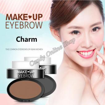 Candy Online Charm Eyebrow Powder Stamp #02 Light brown - 5