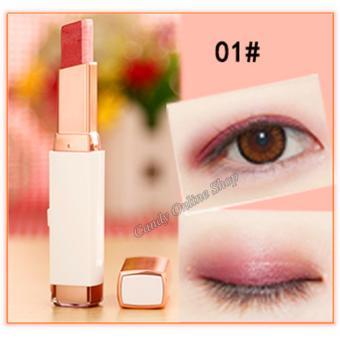 Candy Online Korea NOVO Double Color Gradient Velvet Eye Shadow Make Up Eye Liner Pen #1 - 3
