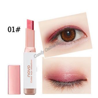 Candy Online Korea NOVO Double Color Gradient Velvet Eye Shadow Make Up Eye Liner Pen #1