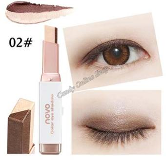 Candy Online Korea NOVO Double Color Gradient Velvet Eye Shadow Make Up Eye Liner Pen #2