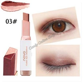 Candy Online Korea NOVO Double Color Gradient Velvet Eye Shadow Make Up Eye Liner Pen #3