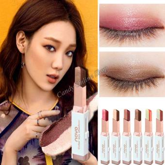 Candy Online Korea NOVO Double Color Gradient Velvet Eye Shadow Make Up Eye Liner Pen #4 - 4