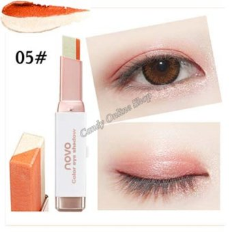 Candy Online Korea NOVO Double Color Gradient Velvet Eye Shadow Make Up Eye Liner Pen #5