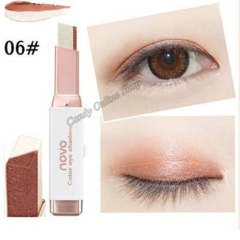 Candy Online Korea NOVO Double Color Gradient Velvet Eye Shadow Make Up Eye Liner Pen #6