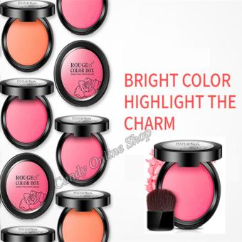 Candy Online Shiny Smooth Muscle Flawless Cheek Blush #2 - 5