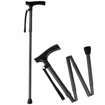 Cane Easy Folding, Adjustable Walking Stick, Lightweight