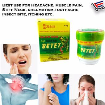 Cap Betet Pain Reliever Ointment Price Philippines