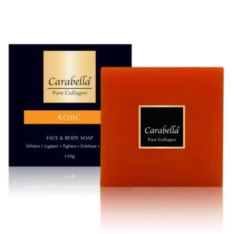 Carabella Pure Collagen Soap with Kojic Acid 150g