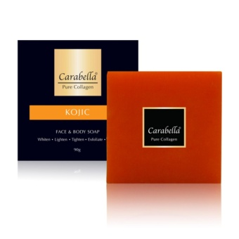 Carabella Pure Collagen Soap with Kojic Acid 90g
