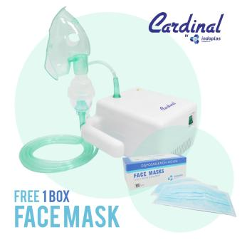 Cardinal Compact Nebulizer - FREE 1 BOX FACE MASK!