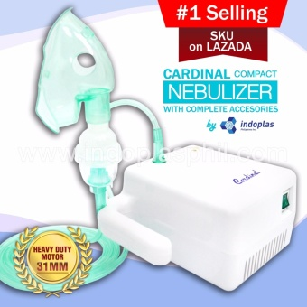 Cardinal Compact Nebulizer (w/ complete accessories)