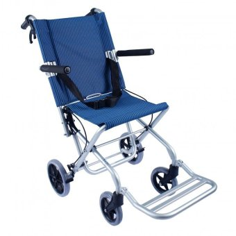 Care&Cure Aluminum Compact Travel Wheelchair (Blue) Price Philippines
