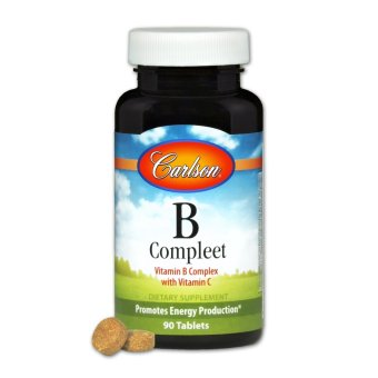 Carlson B-Complete Bottle of 90 Tablets