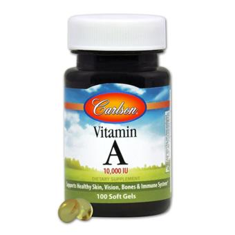 Carlson Vitamin A 10,000 IU 100 Softgels Price Philippines