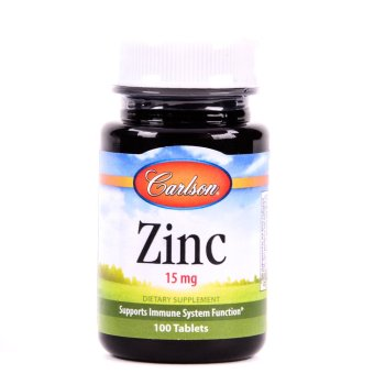 Carlson Zinc 15mg Bottle of 100 Tablets Price Philippines