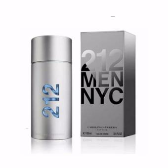 Carolina Herrera 212 MEN NYC Eau De Toilette Perfume for Men 100ml