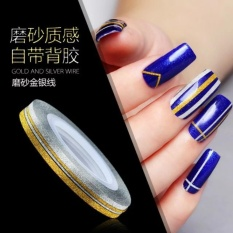 Catwalk philippines catwalk nail art stickers for sale prices catwalk 6x mixed color rolls scrub striping tape line nail art tips decoration sticker diy wide3mm intl prinsesfo Images