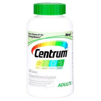 Centrum Multivitamin/Multimineral Supplement, Adults 365 Tablets(Expiration 09/18)
