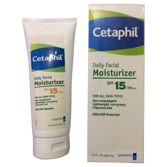 Cetaphil Daily Facial Moisturizer SPF15/PA++ 250ml