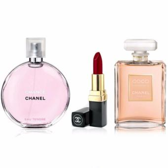 Chanel Chance and Coco 15ml With Lipstick 3.5g Price Philippines