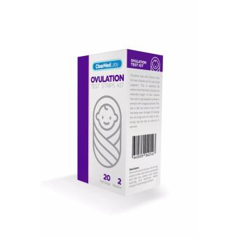 ClearMed Labs Pregnancy Predictor Ovulation Test Kit - 2 Months (20pieces)