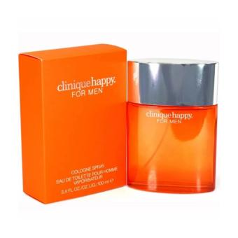 Clinique Happy Cologne Spray Eau de Toilette for Men 100ml