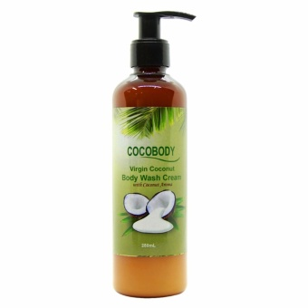 Cocobody Virgin Coconut Body Wash Cream with Coconut Aroma 250ml