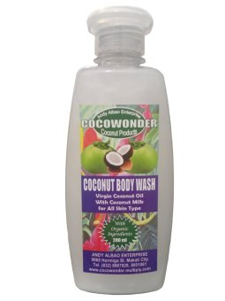 COCONUT BODY WASH (Coconut Liquid Soap)-200 ml Price Philippines