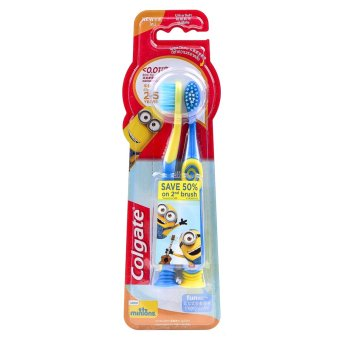 Colgate Minions Youth Kids Ultra Soft Toothbrush (5-9 years old)Buy 1, Get 2nd @ 50% OFF
