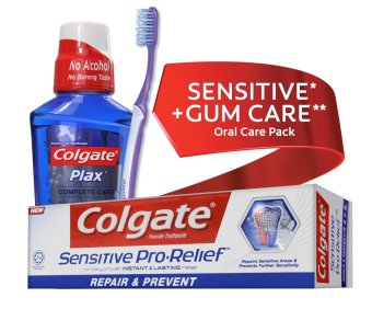 Colgate SENSITIVE* + GUM** CARE Oral Care Pack Price Philippines