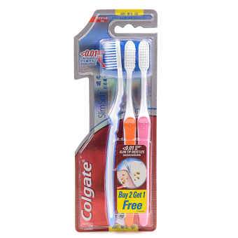 Colgate Slim Soft Toothbrush (Soft) - Buy 2, Get 1 FREE
