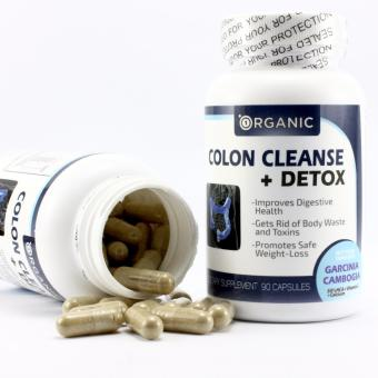 Colon Cleanse + Detox, Eliminate Toxins, Boost Energy, All Natural, Non-Irritant, 90 Capsules
